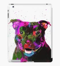 Staffordshire Bull Terrier Pop Art Portrait iPad Case/Skin