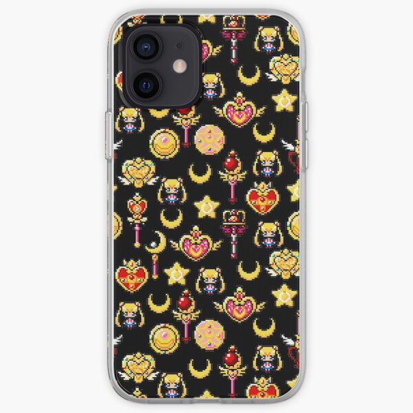 Sailor Moon - Black iPhone Soft Case