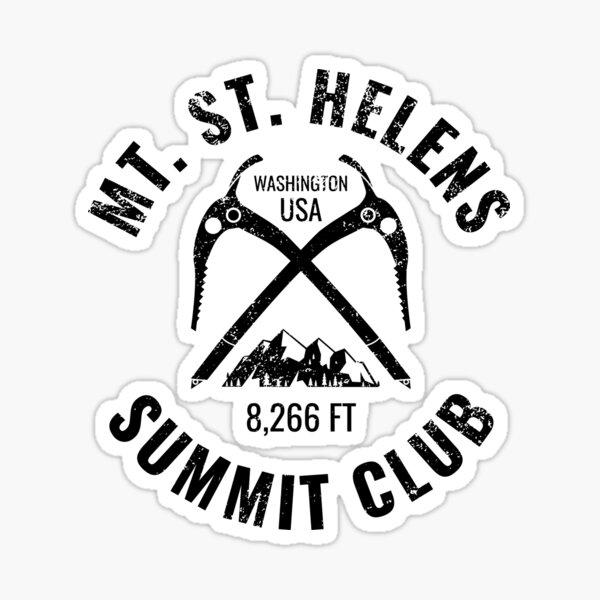 Mt St Helens Summit Club Mount Saint Helens  Sticker