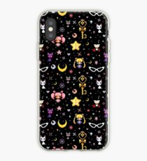 Sailor Moon Familie - Schwarz iPhone-Hülle & Cover