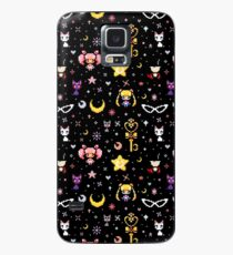 Sailor Moon family - Black Case/Skin for Samsung Galaxy