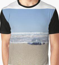 Jellyfish - Blue Bottle Jellyfish  Graphic T-Shirt