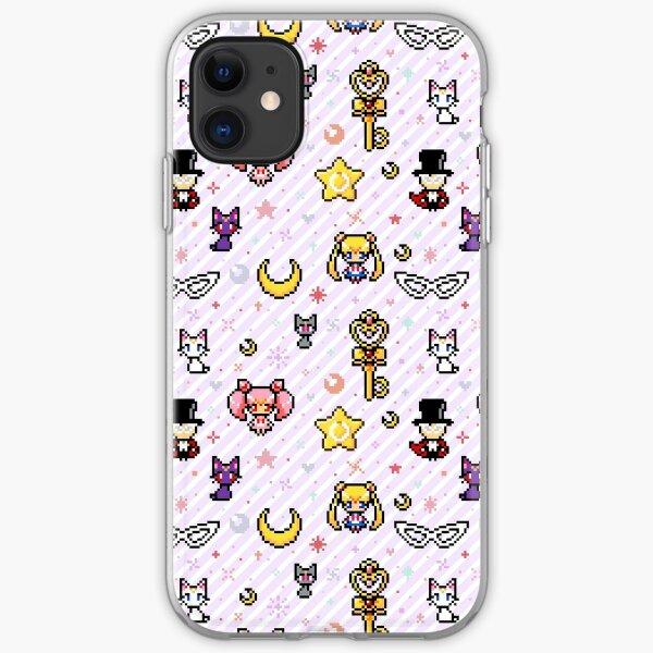 Sailor Moon family - Purple iPhone Soft Case
