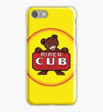 Piper Cub vintage Aircraft iPhone Case/Skin