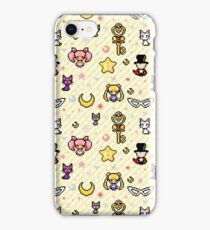 Sailor Moon family - Yellow iPhone Case/Skin