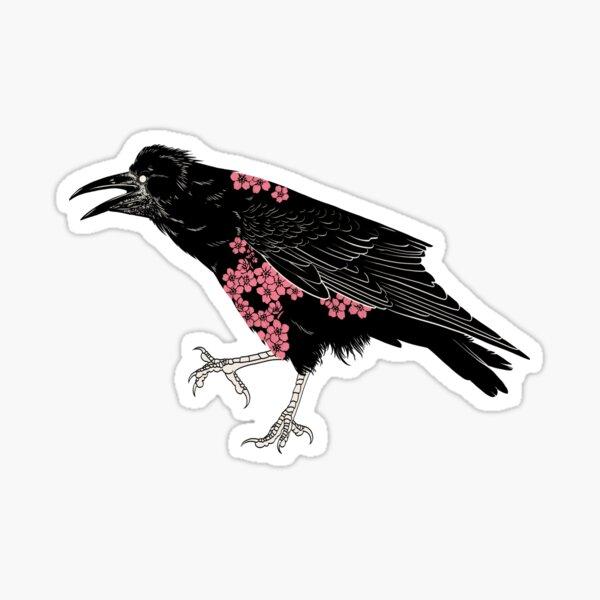 Corvus frugilegus Sticker
