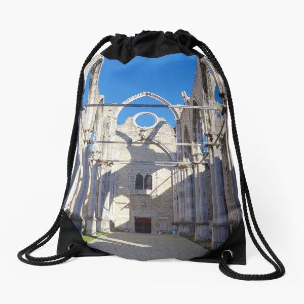 Carmo Convent Drawstring Bag