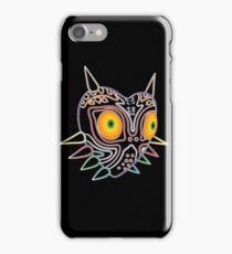 Majora's Mask Neon LIghts iPhone Case/Skin