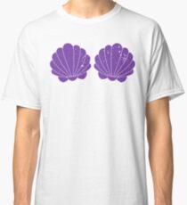 Purple Mermaid Shells Classic T-Shirt