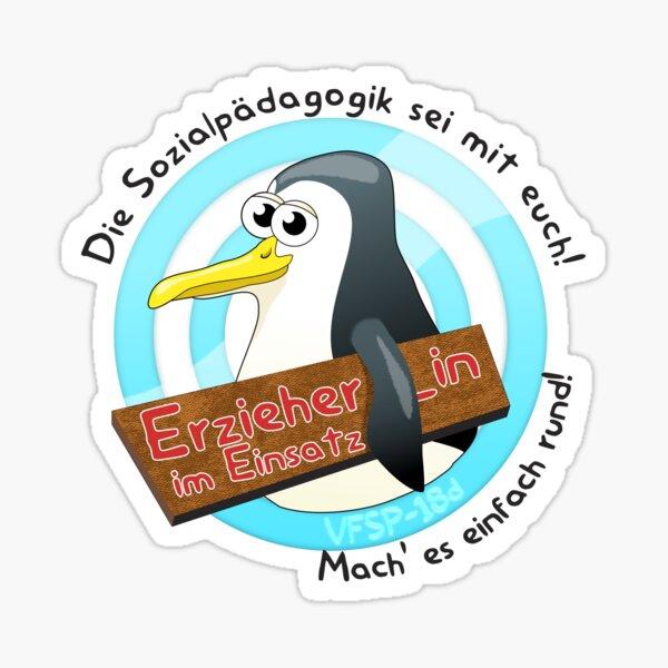 Erzieher_in im Einsatz - VFSP-18d Sticker