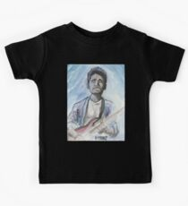 John Mayer in watercolor.  Kids Tee