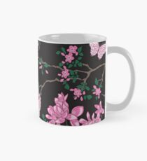 Oriental birds, flowers and butterflies Classic Mug