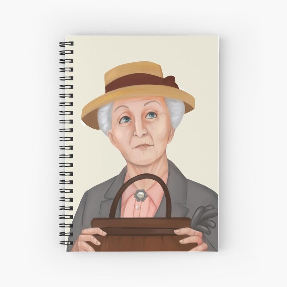 Miss Marple Spiral Notebook