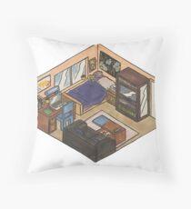 isometry Throw Pillow