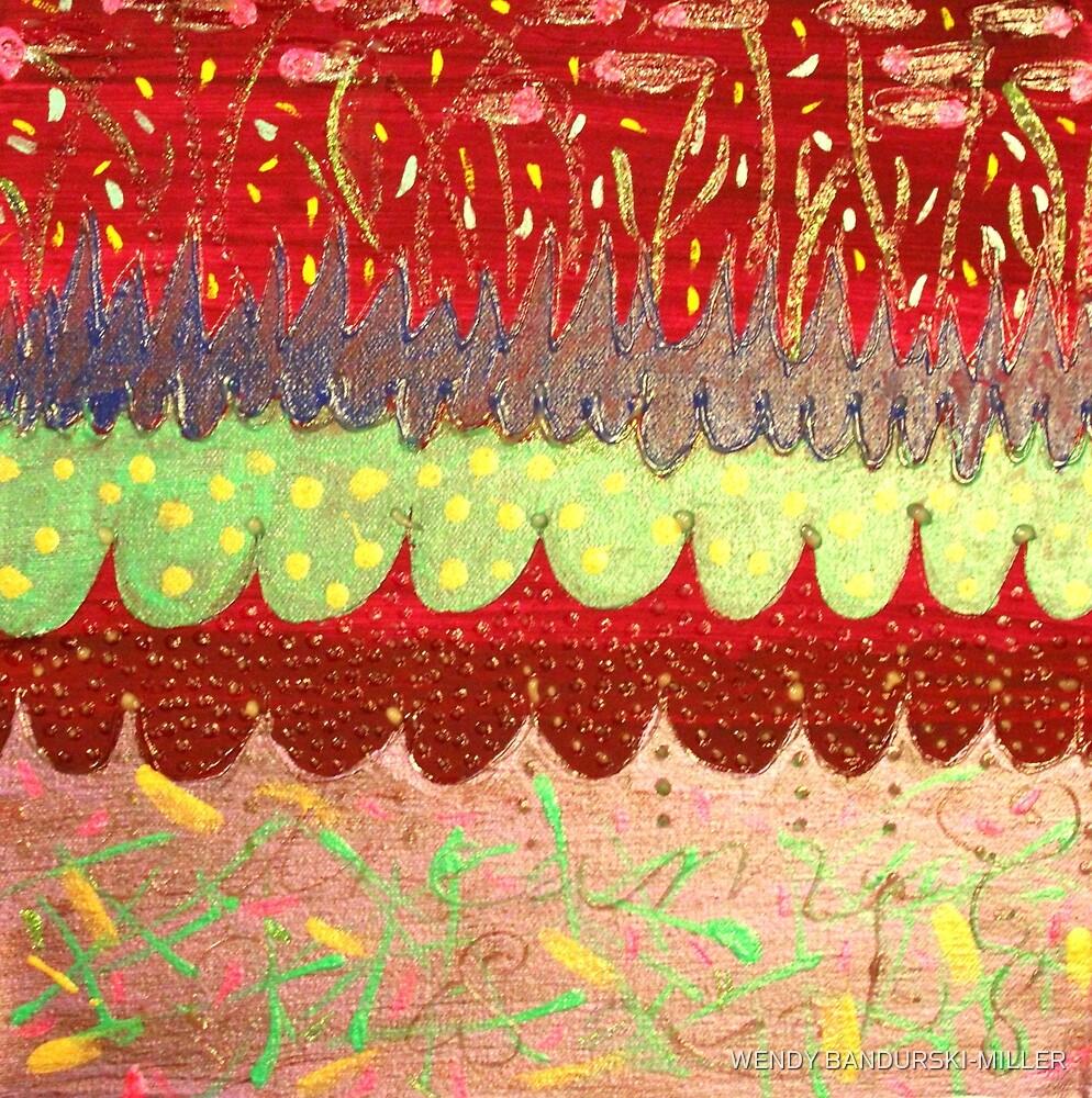 REDREAMING CARNIVAL OF FIREFLIES by WENDY BANDURSKI-MILLER