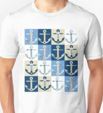 Anchors Ahoy Unisex T-Shirt