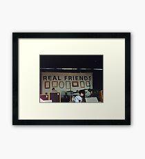 Real Friends Framed Print