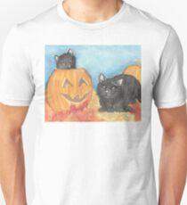 Watercolor Halloween  T-Shirt