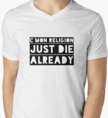 Atheism Anti Religion Political Quote  T-Shirt