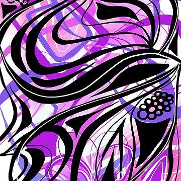 Purple Hypnotic Lines by RenegadeBhavior