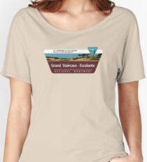 Grand Staircase-Escalante National Monument Sign, Utah Women's Relaxed Fit T-Shirt