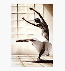 Dance Finess Photographic Print