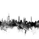 New Delhi India Skyline by Michael Tompsett