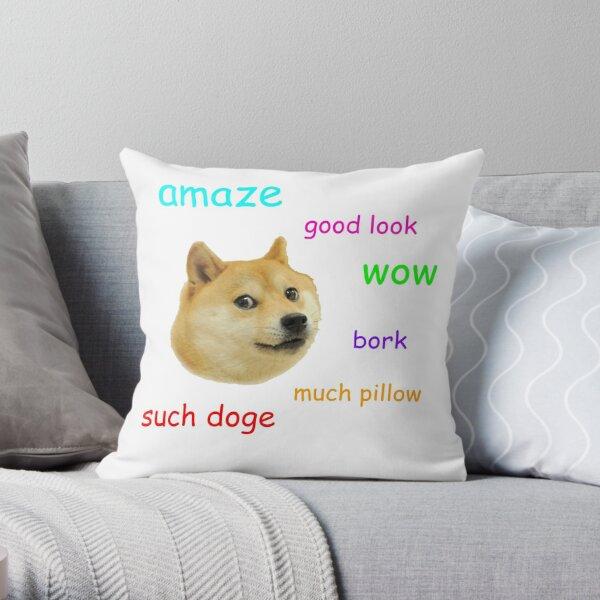 Doge Throw Pillow