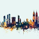 Mumbai Skyline India Bombay by Michael Tompsett