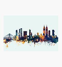 Mumbai Skyline India Bombay Photographic Print