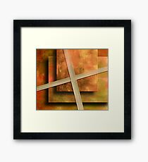 A Project Framed Print