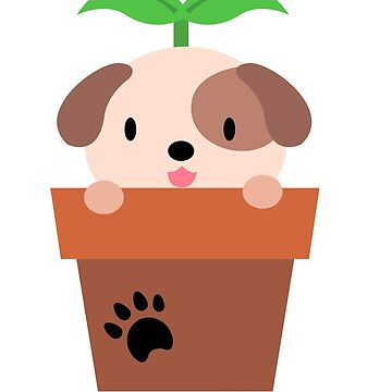 Pup sprout by LoaMoa
