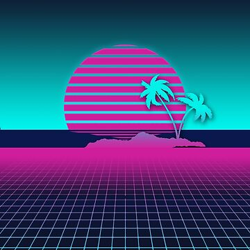 Neon Sunset by Nadinosaur8