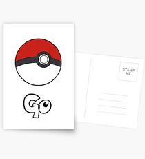 Pokemon Go - Go Postcards