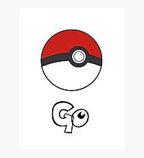 Pokemon Go - Go Photographic Print