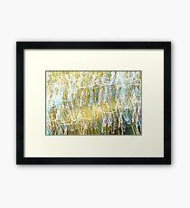Pollock's Wet Dream Framed Print