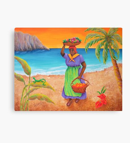 Tropical Harvest Canvas Print