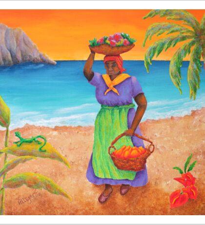 Tropical Harvest Sticker