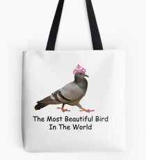 a beautiful bird Tote Bag