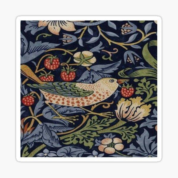 Strawberry thie - William Morris Sticker