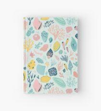 Cuaderno de tapa dura Colorido patrón feliz para los amantes del mar!