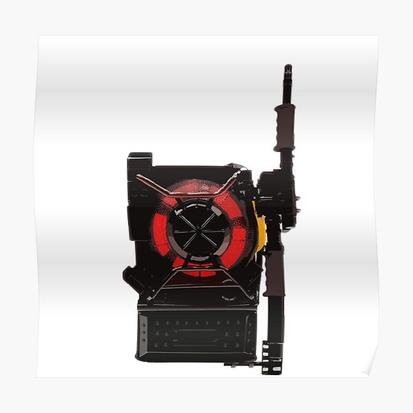 Ghostbusters 2016 - Proton Pack Prototype Poster