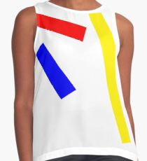 Abstract basic colors Contrast Tank