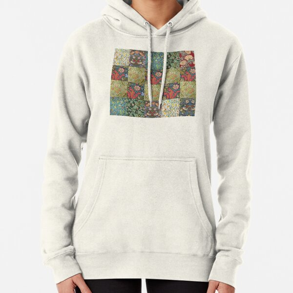 William Morris Pattern Collection Pullover Hoodie
