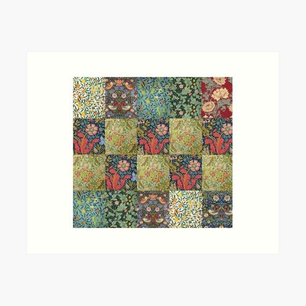 Colección de patrones de William Morris Lámina artística
