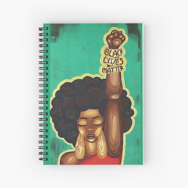 JUSTICE WANTED Spiral Notebook