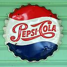 Pepsi Bottle Cap by David Lee Thompson
