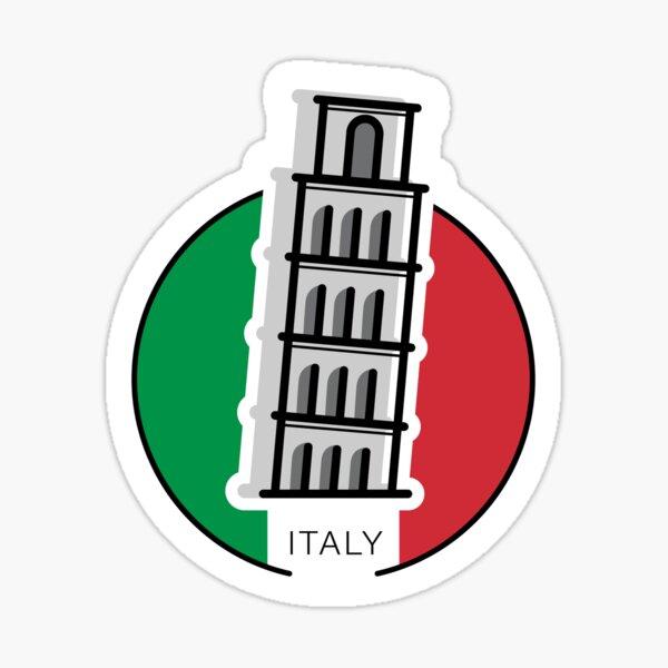 Around the world - Italy Sticker