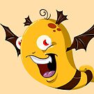 Halloween Monster 5 by Liron Peer