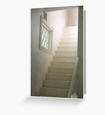 upstairs Greeting Card